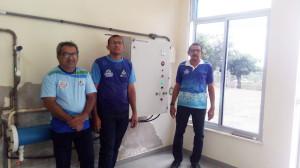 Servidores do SAAE de Jaguaribe