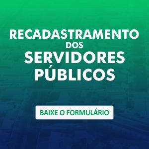 Recadastramento dos Servidores Públicos