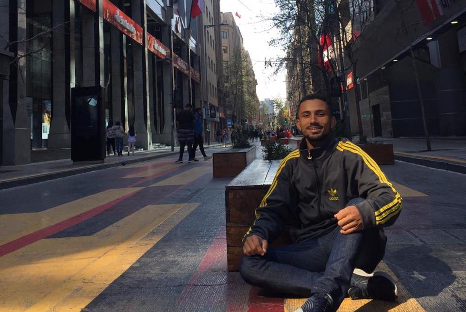 Pedro Henrique no Chile
