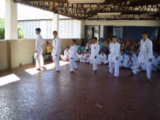 Exame de Faixa Centro Social Marieta Cals - Foto 17