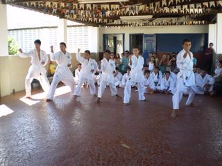 Exame de Faixa Centro Social Marieta Cals - Foto 18