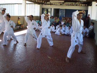 Exame de Faixa Centro Social Marieta Cals - Foto 19