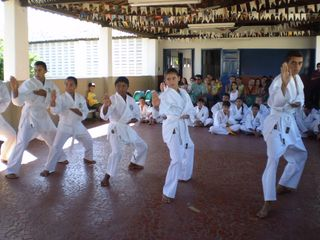Exame de Faixa Centro Social Marieta Cals - Foto 20