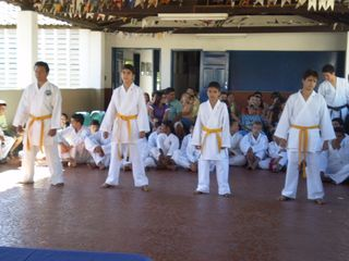 Exame de Faixa Centro Social Marieta Cals - Foto 9