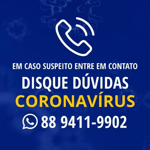 Disque Dúvidas Coronavírus